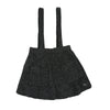 Wooly Grey Suspender Skirt by Christina Rohde