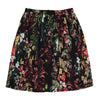 Black Floral Skirt by Christina Rohde