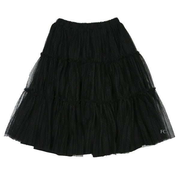 Black Pleated Skirt by Christina Rohde