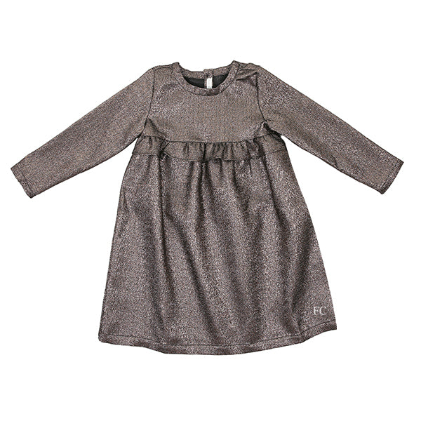 Bronze Metallic Dress by Zhoe & Tobiah