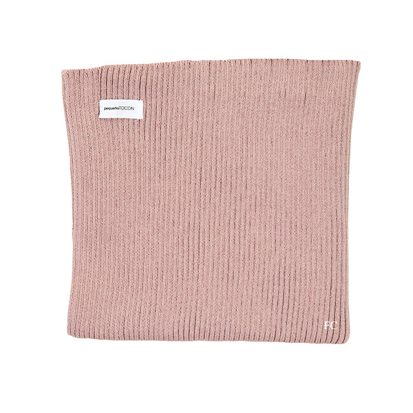 Pink Rib Blanket by Pequeno Tocon
