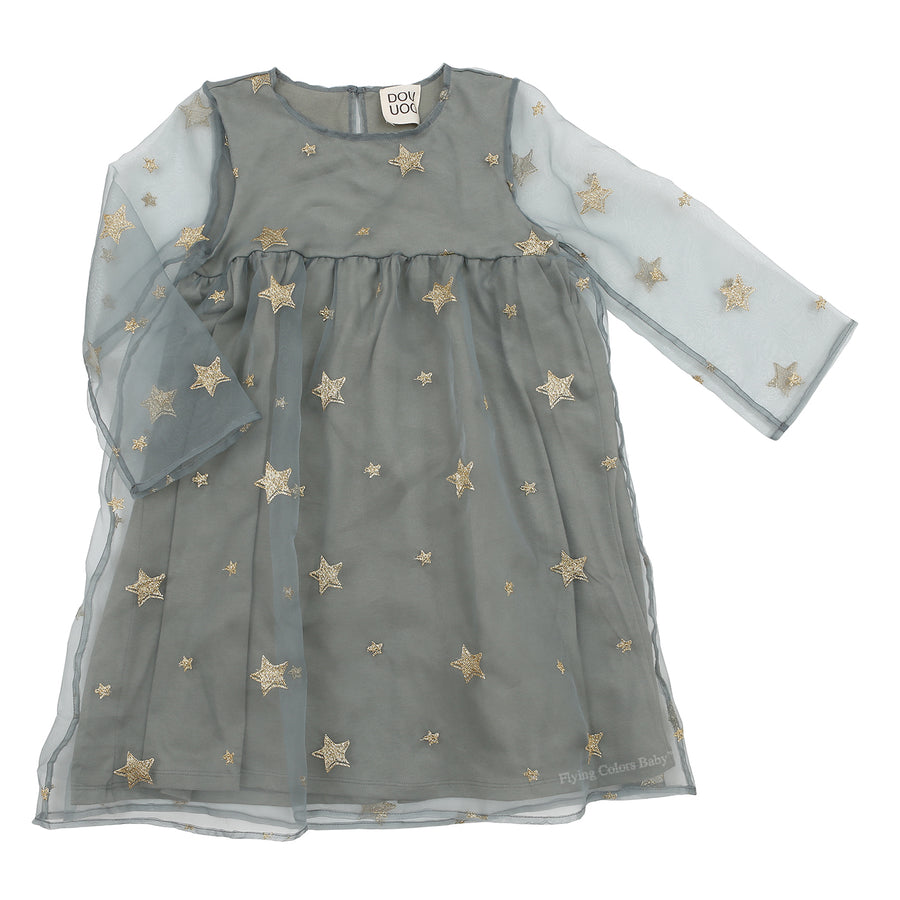 Stelle Organza Dress by DOUDOU - Flying Colors Baby