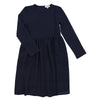 Blue Waffle Textured Dress By Michelle - Flying Colors Baby