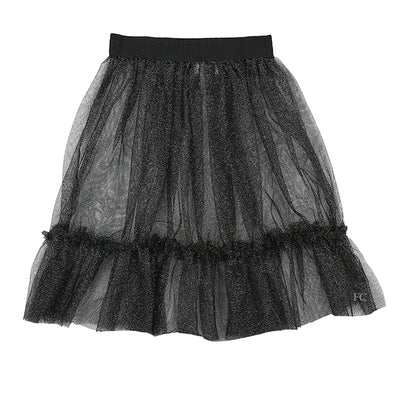 Nero Tulle Skirt by Illudia