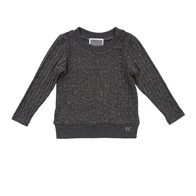 Banded Rib Sweater by Kid.