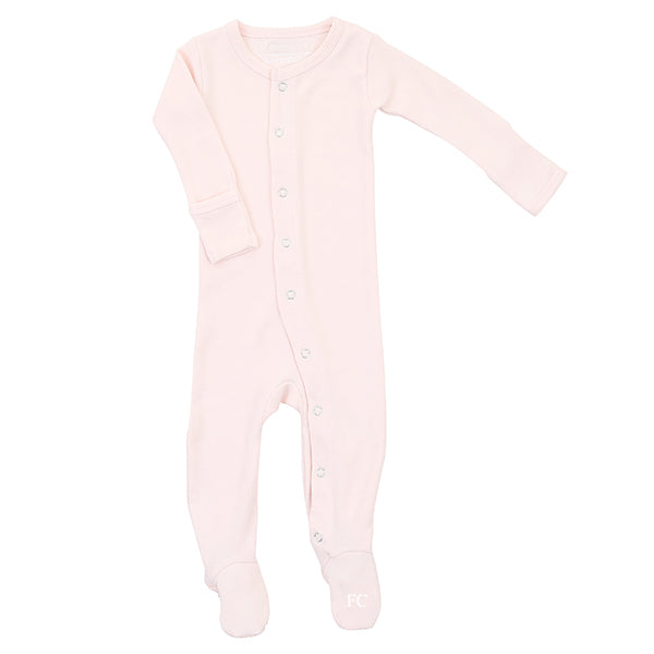 Blush Organic Footie by L'ovedbaby
