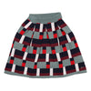 Printed Knitted Jacard Skirt by Ustabelle