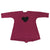 Burgundy Heart Dress by Maybe4Baby