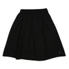 Black Knitted Jacard Skirt by Ustabelle