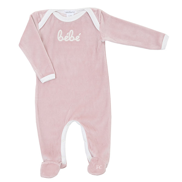 Bebe Rose Footie by Coton Pompom
