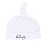 Darling White Hat by Coton Pompom