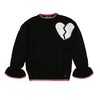 Black Heart Sweater by MSGM