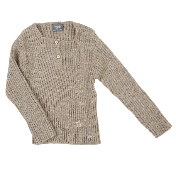 Ribbed Sweater by Tocoto Vintage