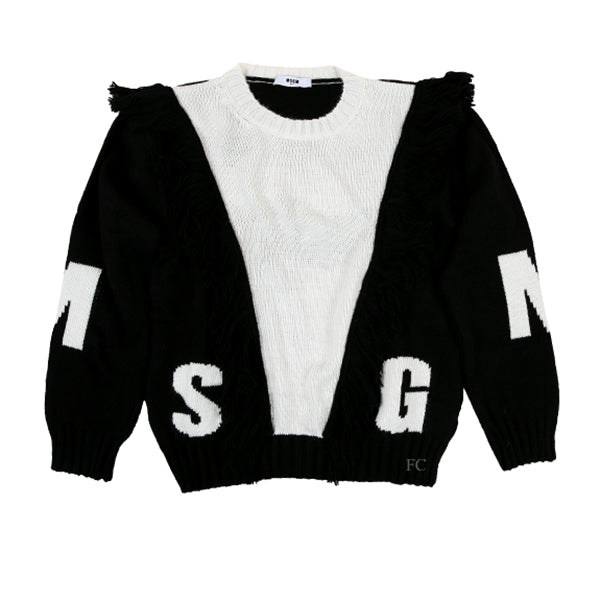 White Sweater by MSGM