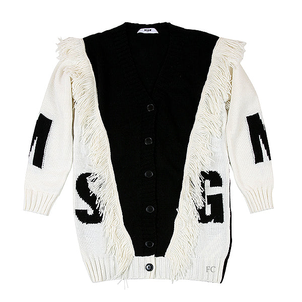 Black Maglieria Cardigan by MSGM