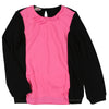 Long Sleeve Sweater with Pink Panel Front by KI6