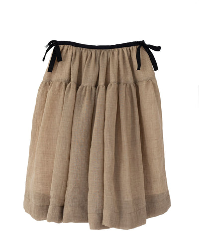Cosima Toffee Skirt by Cosmosophie