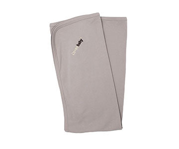 Light Gray Swaddling Blanket by L'ovedbaby