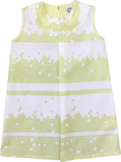 Interlock Lemonade Dress by Pilvi - Flying Colors Baby