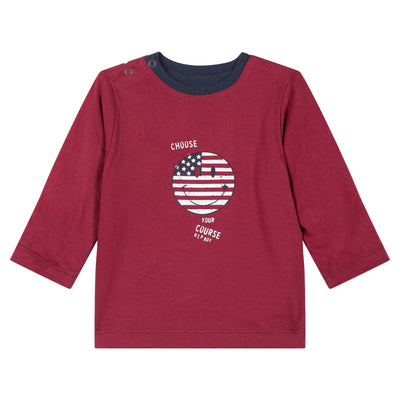 American Reversible Smile Tee by 3 Pommes