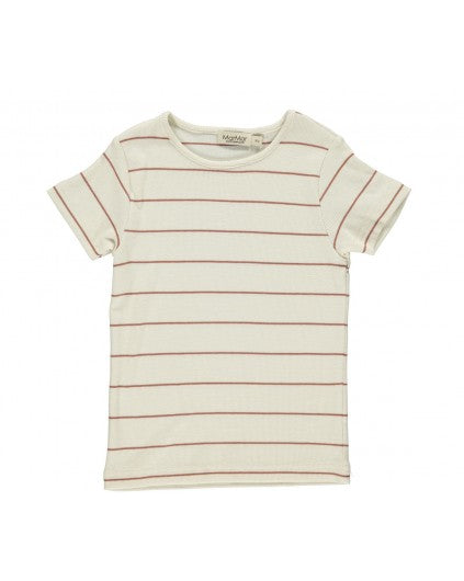 Short Sleeve Chutney Stripe T-shirt by MarMar