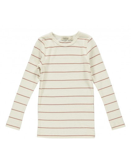Long Sleeve Chutney Stripe T-shirt by MarMar