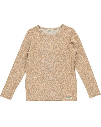 Rose Stone Leo Long Sleeve T-Shirt by MarMar