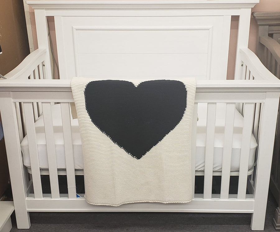William Heart Blanket by Zandino