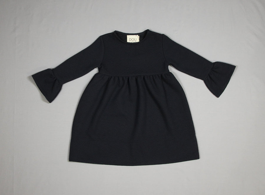 Bell Sleeve Dress by DOU DOU - Flying Colors Baby
