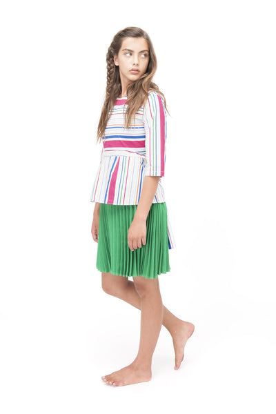 Multi Striped Top by Zaikamoya - Flying Colors Baby