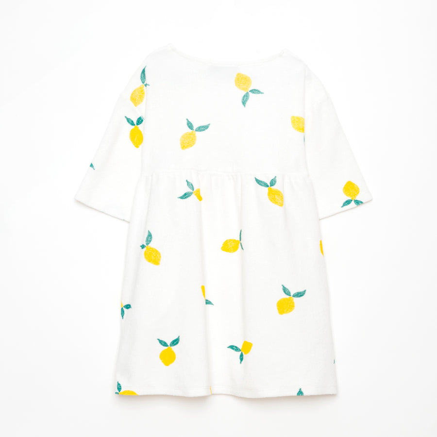 Lemon Terry Dress by Weekend House Kids