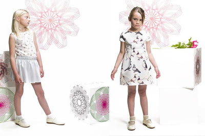 Kiny Pigeon Dress By Etiket - Flying Colors Baby