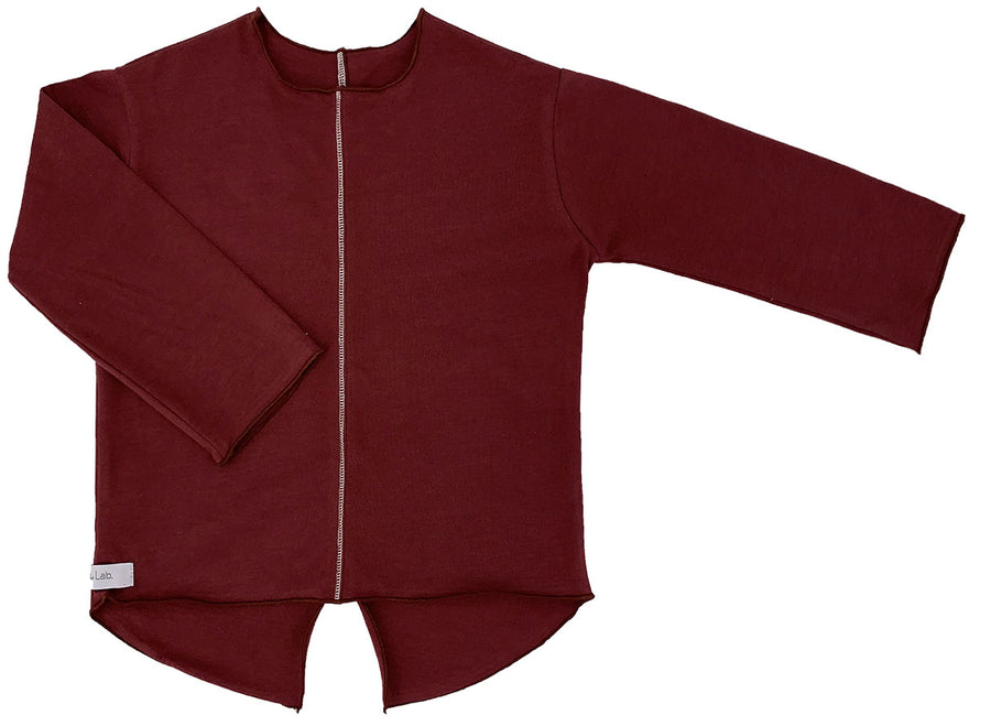 Marsala Elegance Shirt by Gaya Lab