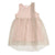 Old Rose Ruffle Dress by Dou Dou