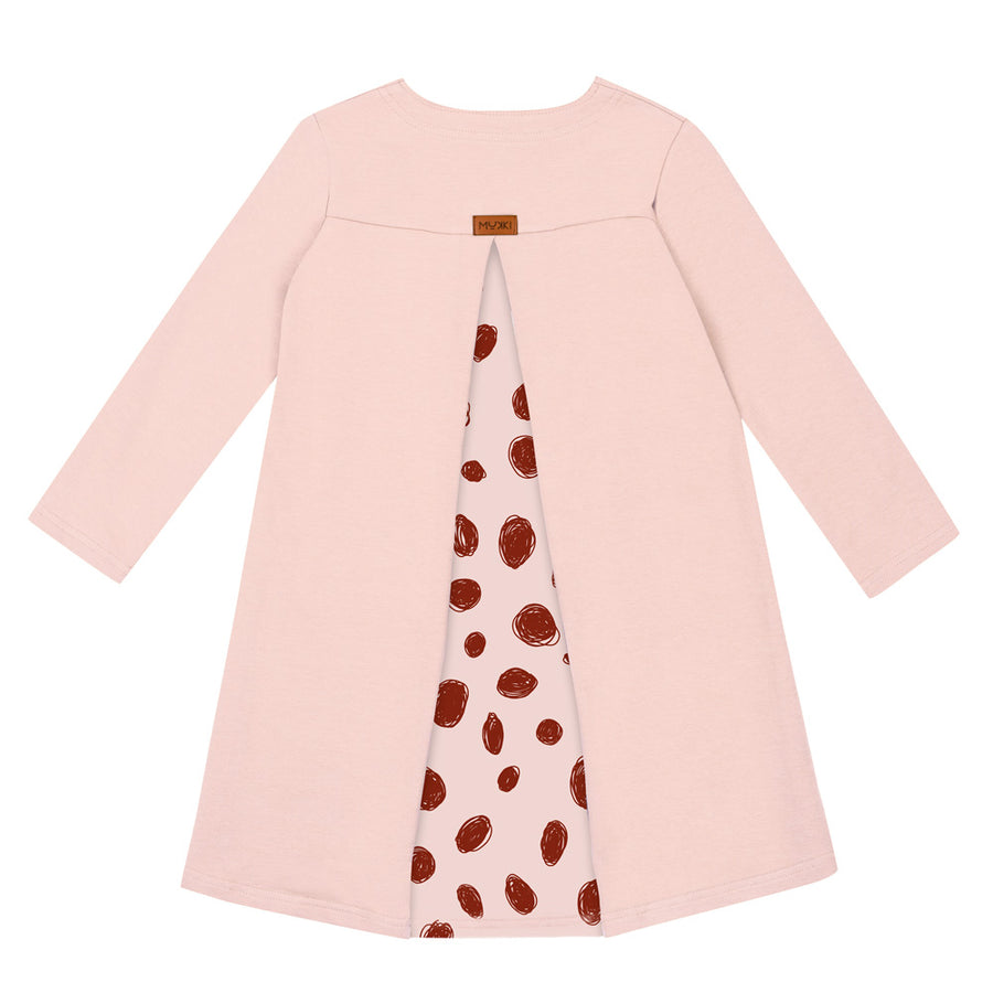 Pink Irbis Dress by Mukki Kids