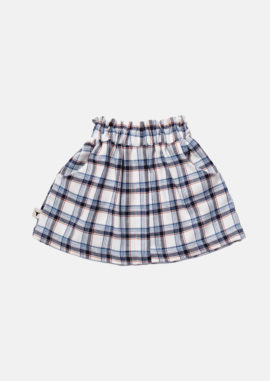 Big Grill Plaid Skirt Skirt by Booso