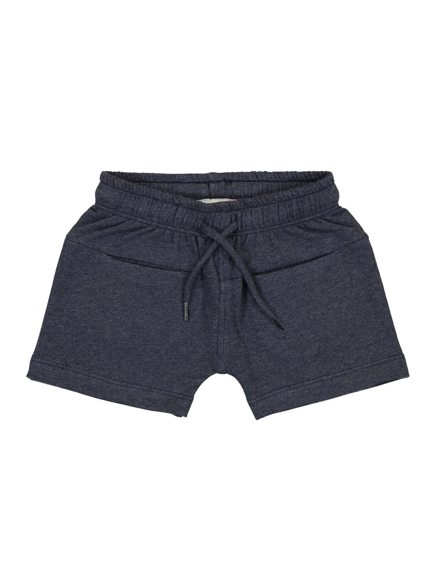 Alf Blue Organic Shorts By Kidscase