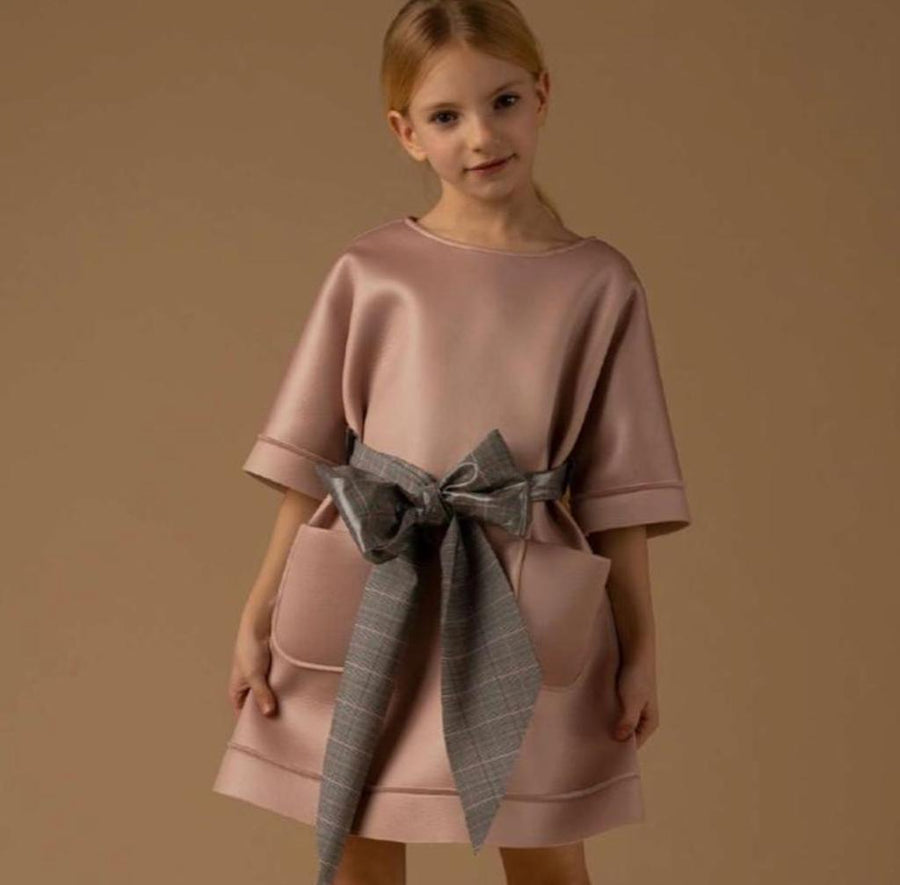 Neoprene Pink Dress by Pamilla