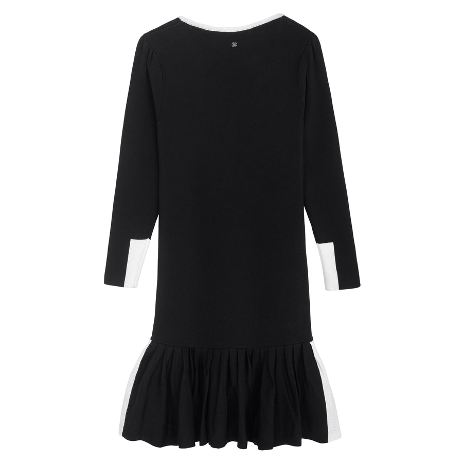 Black Knitted Dress by Ustabelle