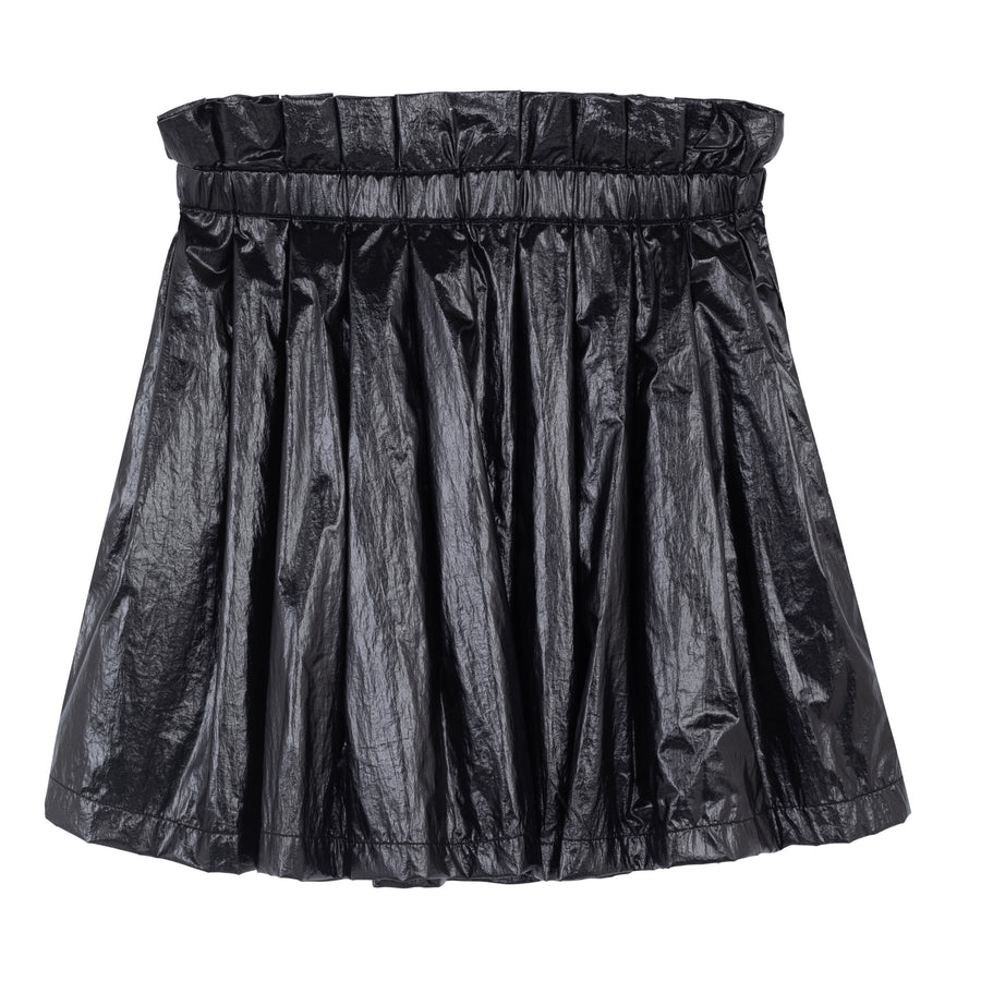 Black Nylon Skirt by Ustabelle