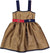 Brown Strap Dress by Mimisol