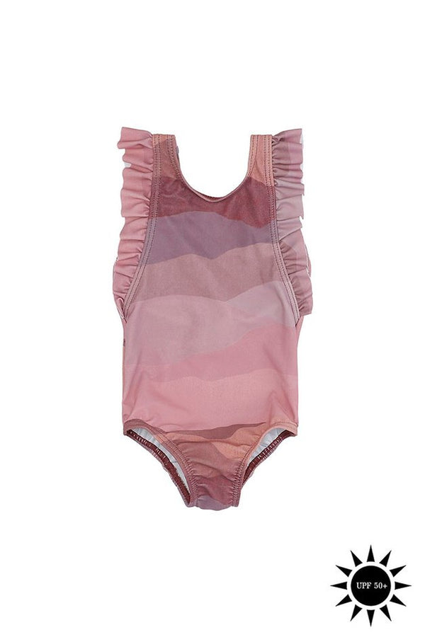 Ana Landscape Baby Swimsuit By Soft Gallery