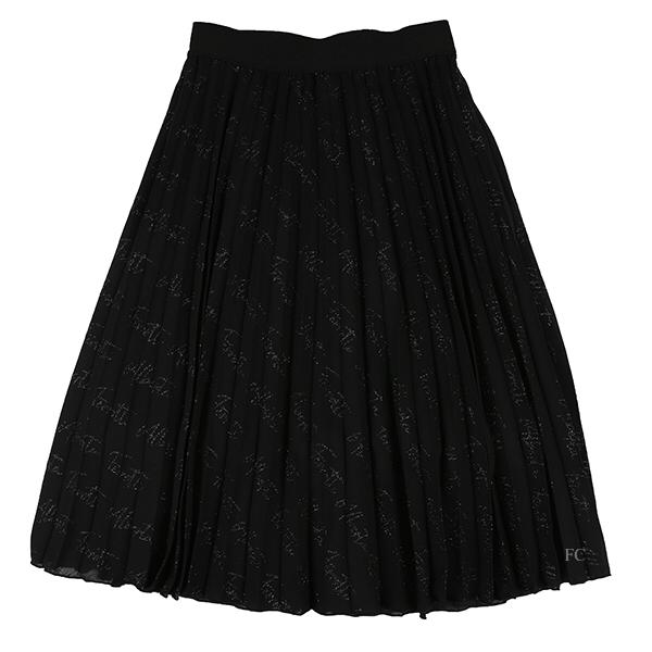 Long Crepe Skirt by Alberta Ferretti