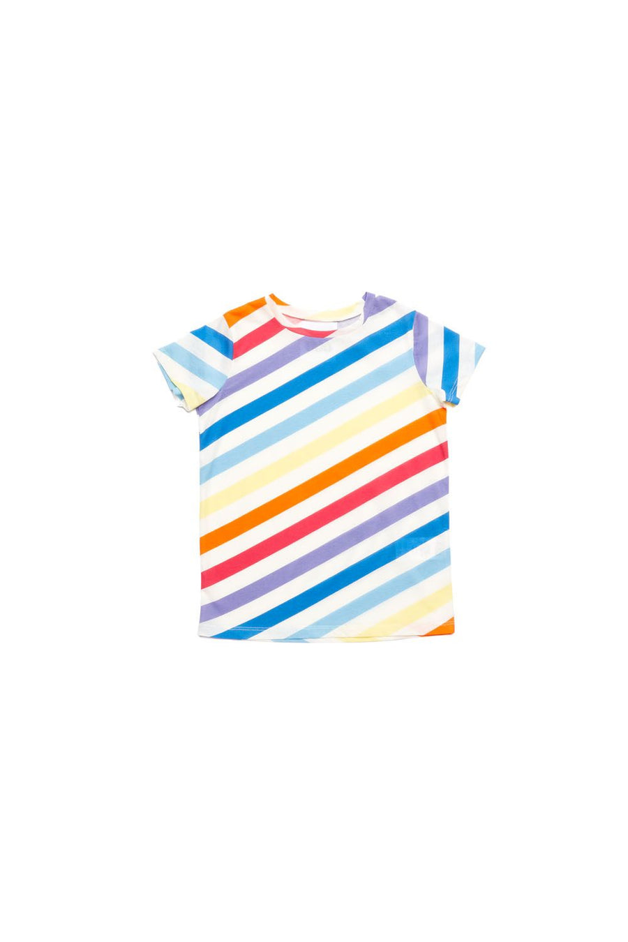 Multicolor Striped T-Shirt by Dou Dou