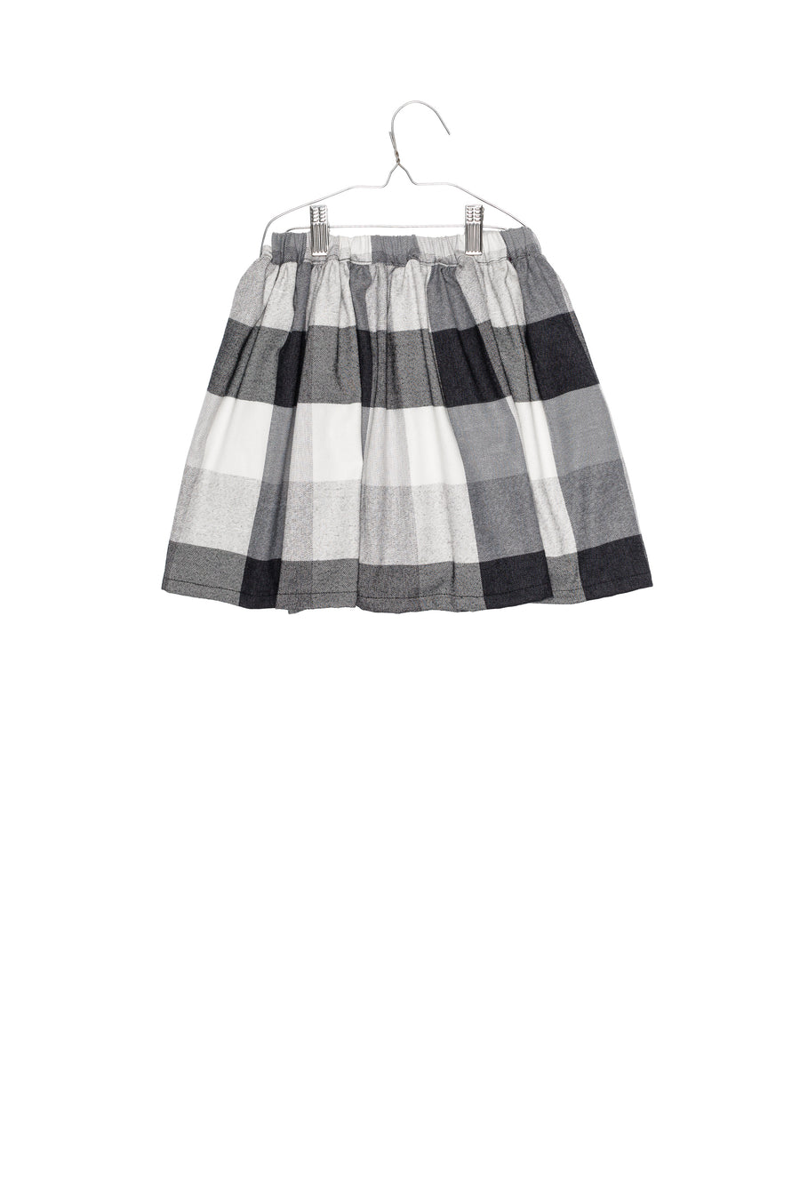Moira Checked Skirt by Motoreta