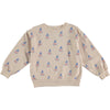 Fog Printed Sweatshirt by Bonmot