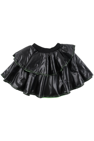 Black and Green Skirt by Loud