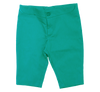 Bold Green Cotton Sateen Bermudas by Nove - Flying Colors Baby