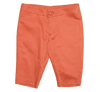 Tangerine Slim Fit Cotton Sateen Bermudas by Nove