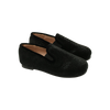 Black Metallic Loafer by Zeebra